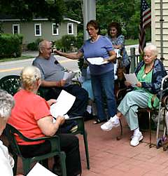 Most residents enjoy music, sing-a-longs!